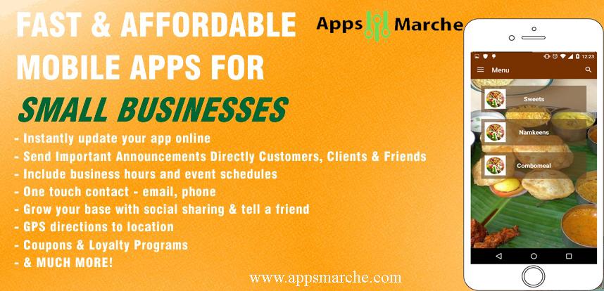 appsmarche, online apps market, online app creator