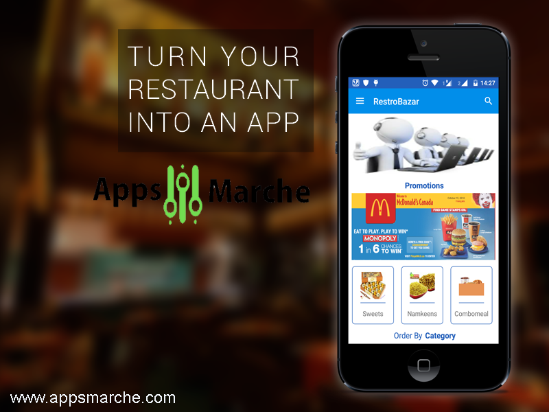 restaurant mobile app is a smart business solution,best restaurant mobile app,best app builder