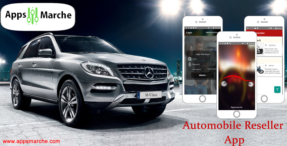 automobile app, best automobile app, mobile app creator