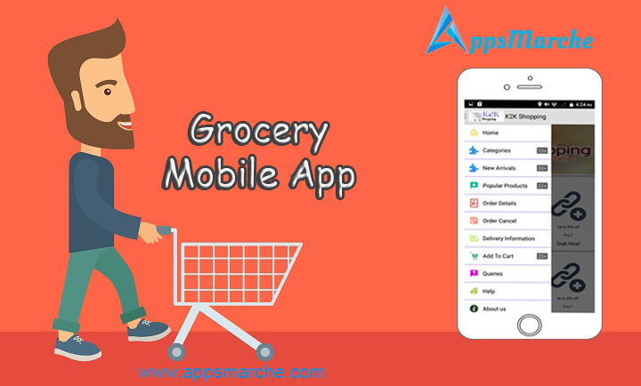 get grocery mobile app to manage retail store, retail management mobile app, retail business mobile app, grocery mobile app, grocery app builder, mobile app builder, best app builder