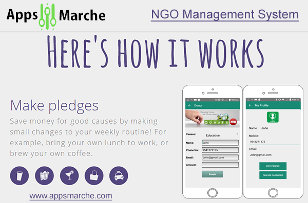 ngo business mobile app best solution for ngo, ngo management app, best ngo app, best app builder