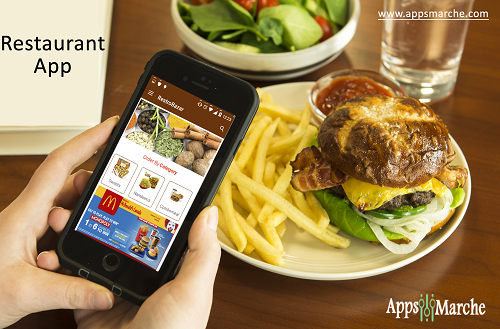 Make Food Order Easily with Restaurant Management App,Restaurant management mobile app, app builder