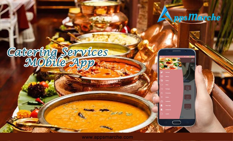 manage catering business by catering services mobile app, online caterers mobile app