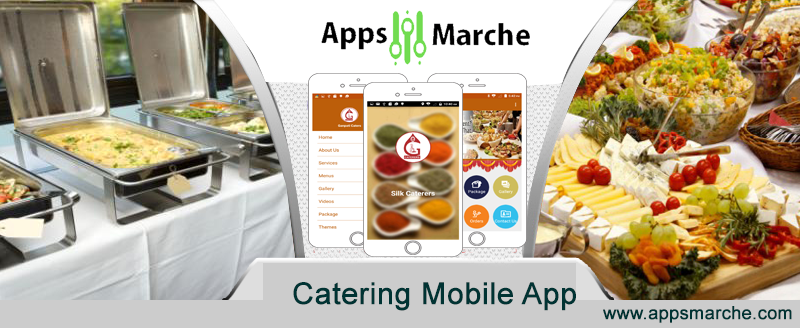 catering mobile app to manage your catering business, best app builder