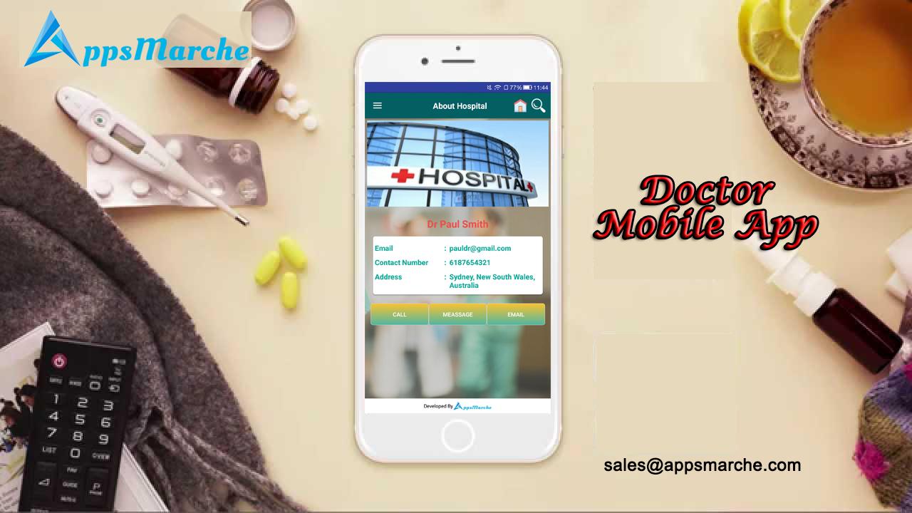 doctor mobile app a productive solution for hospitals, best doctor mobile app, mobile solution for doctor, doctor mobile solution, mobile app for hospital, mobile app for clinic, mobile app builder, online apps market, appsmarket