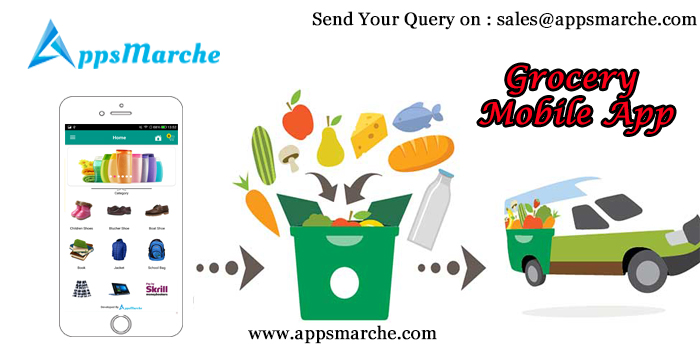 revolutionary appsmarche grocery mobile app, best grocery mobile app, retail management mobile app, retail business mobile app, retailer mobile app, app builder, mobile app builder, online apps market, customized mobile apps