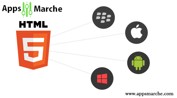 Advantages of HTML5 Development: Appsmarket,mobile app builder,best app builder