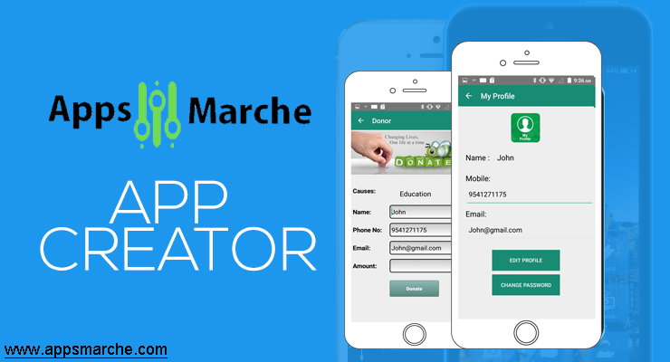 Perfect Mobile Apps by app creator for Your Business, appsmarche