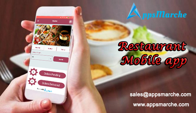 best restaurant mobile app increase your restaurant sales, restaurant mobile app, restaurant business app, restaurant management mobile app, online delivery, restaurant food ordering app, appsmarche, app builder