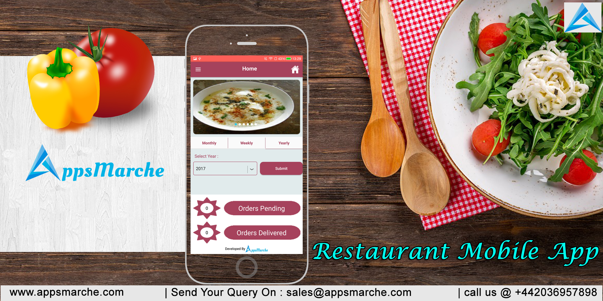 best restaurant mobile app to uplift your restaurant, restaurant mobile app, restaurant management app, restaurant management mobile app, online delivery, restaurant business mobile app, appsmarche, app builder, best mobile app builder