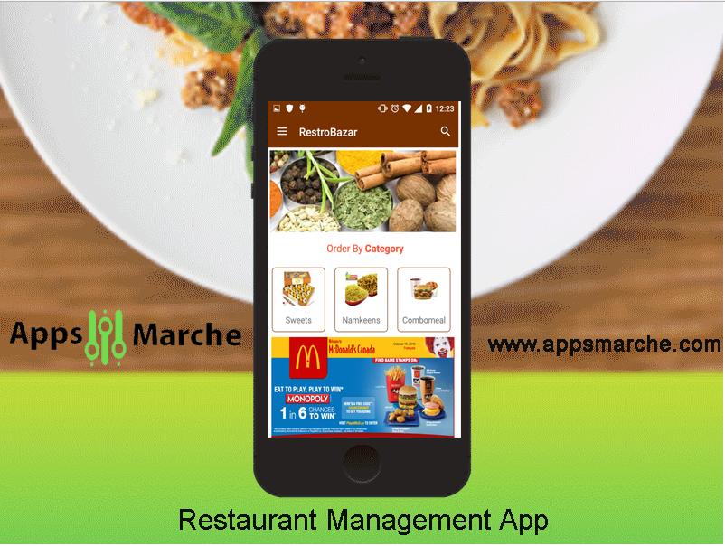 best restaurant manager app for restaurant business, best app builder, restaurant mobile app, restaurant business app