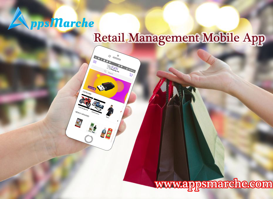 how retail management mobile app increase business sale, retailer mobile app