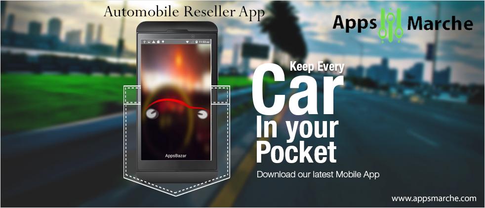 automobile reseller app by appsmarche,best automobile app, mobile app builder
